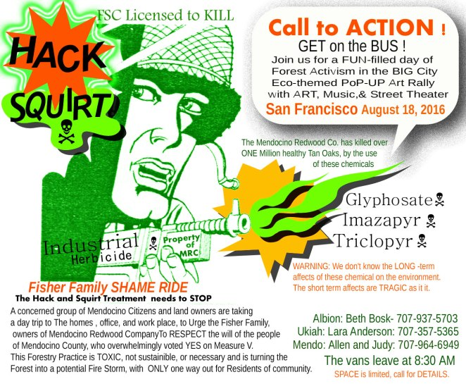 Call to ACTION ! Fishe Shame Ride Poster